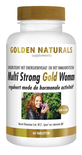 MULTI STRONG GOLD WOMAN 60 Tabs