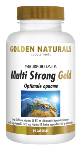 MULTI STRONG GOLD 60 vegacaps